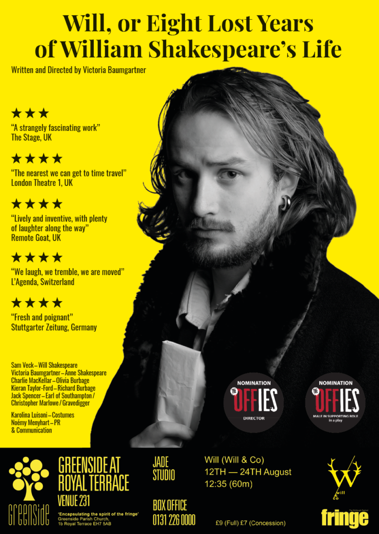 REVIEW: Will, or Eight Lost Years of William Shakespeare's Life