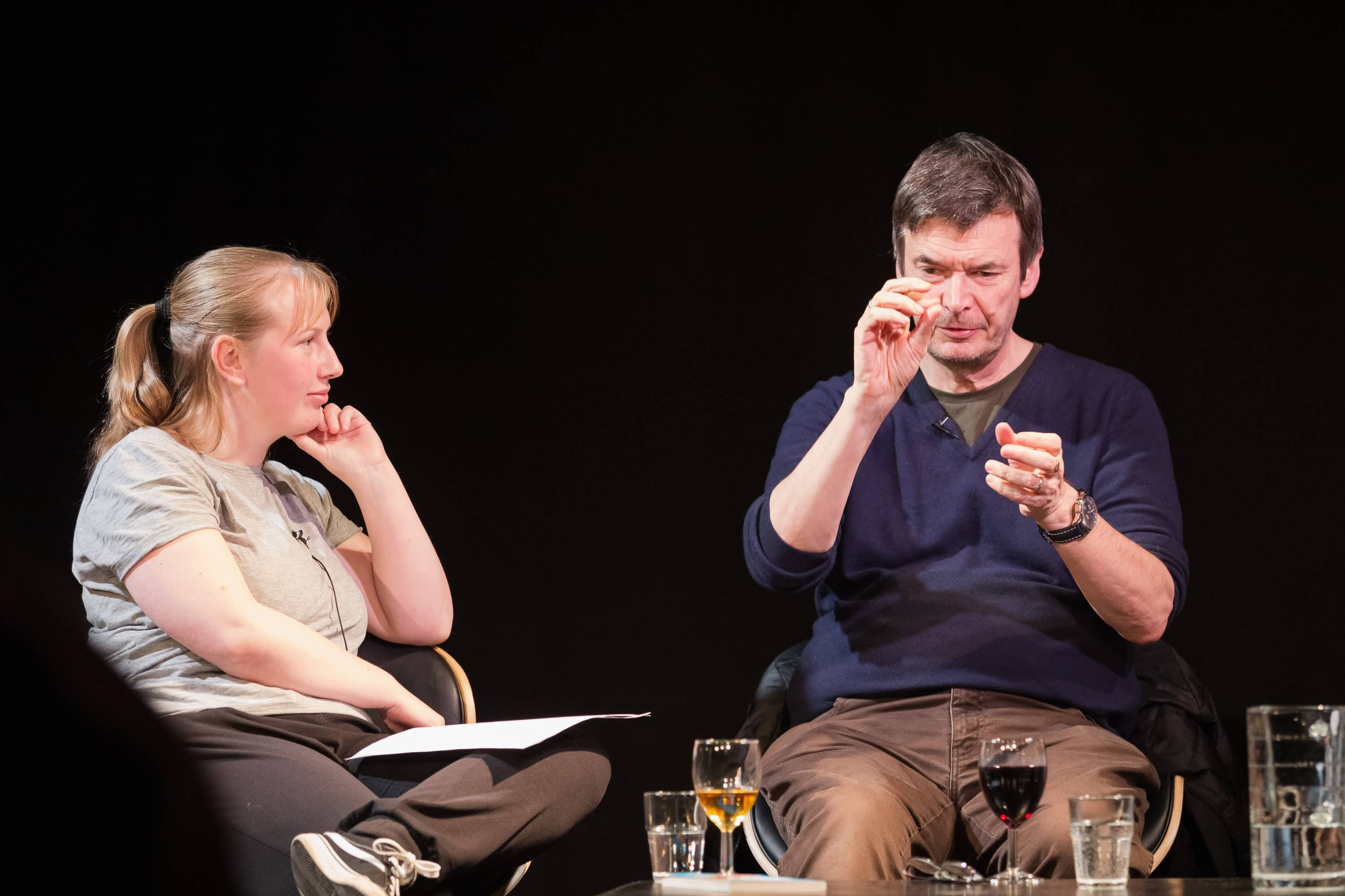 You can now re-live LUNG cHAts Live with Ian Rankin